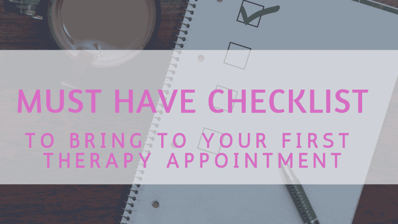 What To Expect at Your First Therapy Appointment