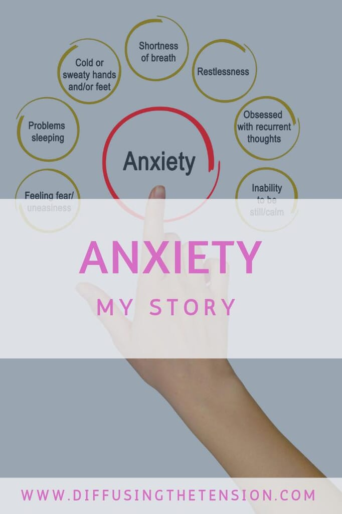anxiety, living with anxiety, my story