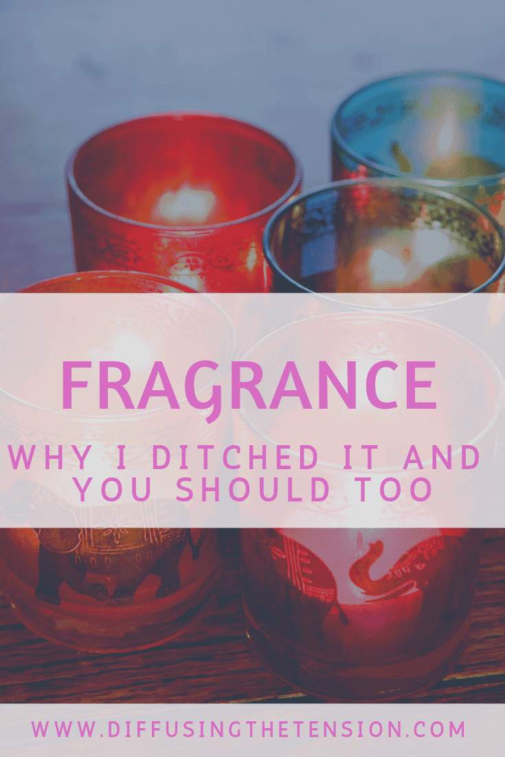 Fragrance,  candles, toxins